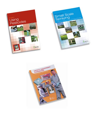 Using Pesticides, Small Scale Spraying & Safety Equipment handbook